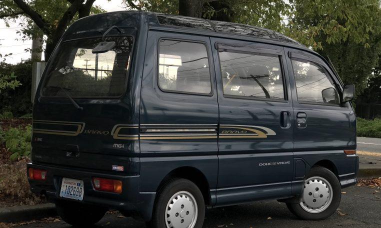 1991 Mitsubishi Bravo Kei Van Adamsgarage Sodo Moto