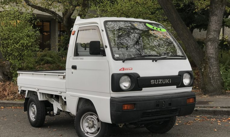 1991 suzuki carry 4x4 10k miles adamsgarage sodo moto. Black Bedroom Furniture Sets. Home Design Ideas
