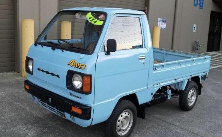 1983 Honda Acty Kei Truck 4WD 5spd