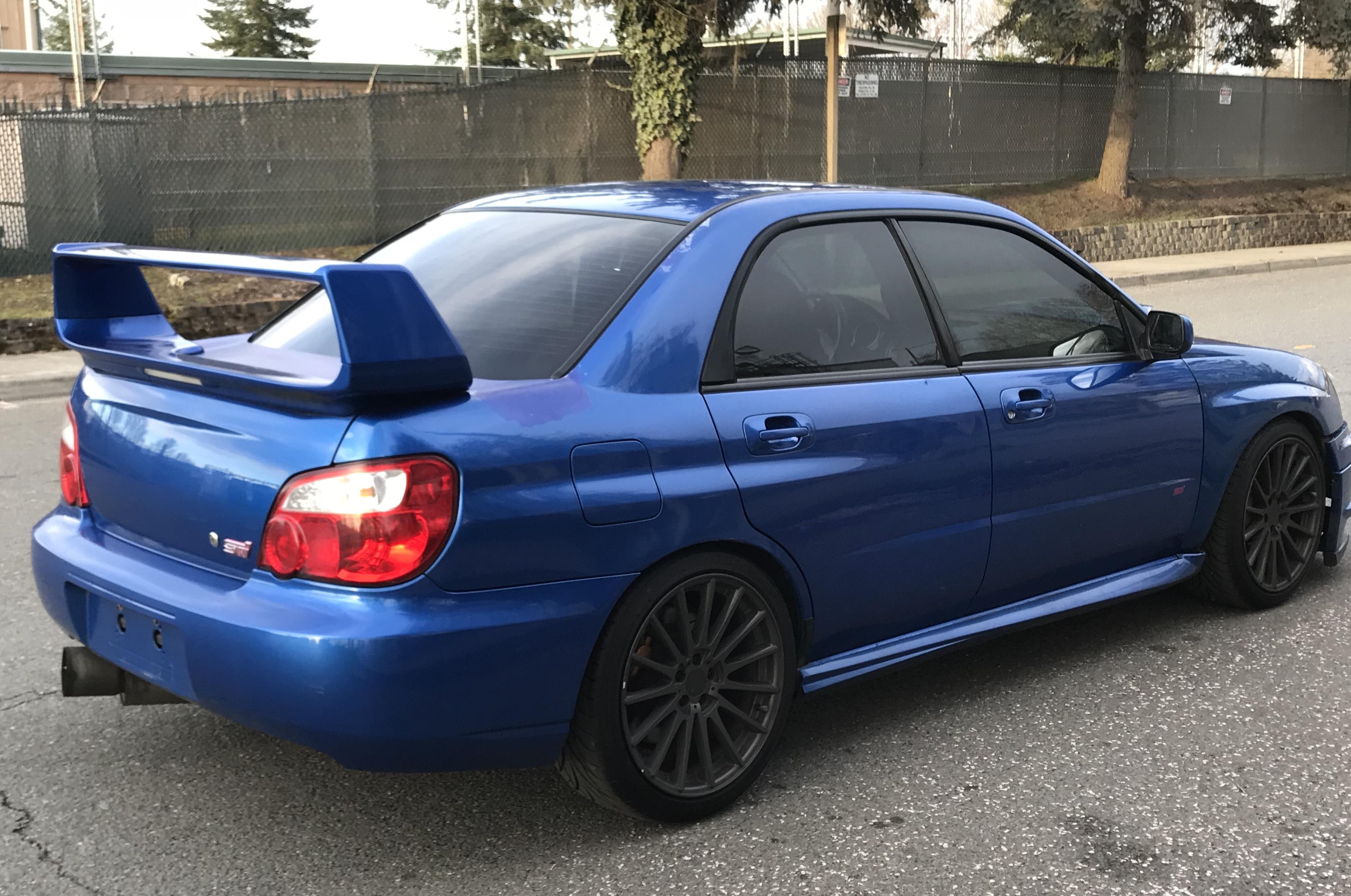 2004 Subaru Impreza WRX STi AdamsGarage SODO MOTO
