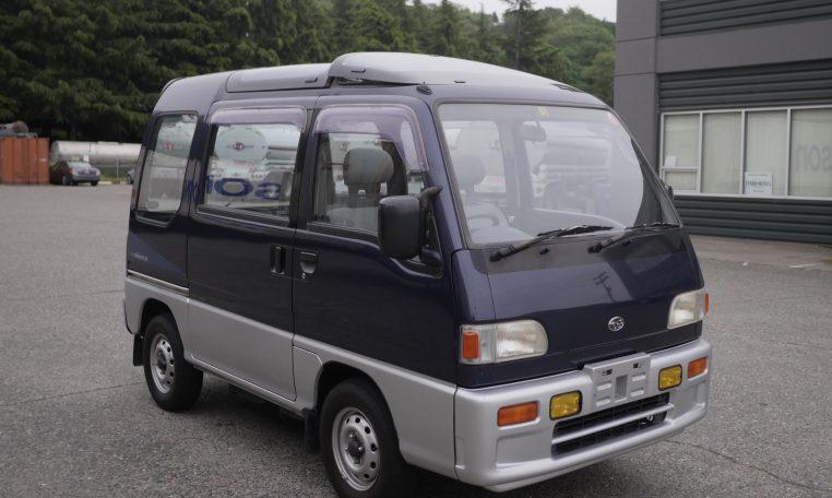 1991 Subaru Sambar Kei Van Automatic Adamsgarage