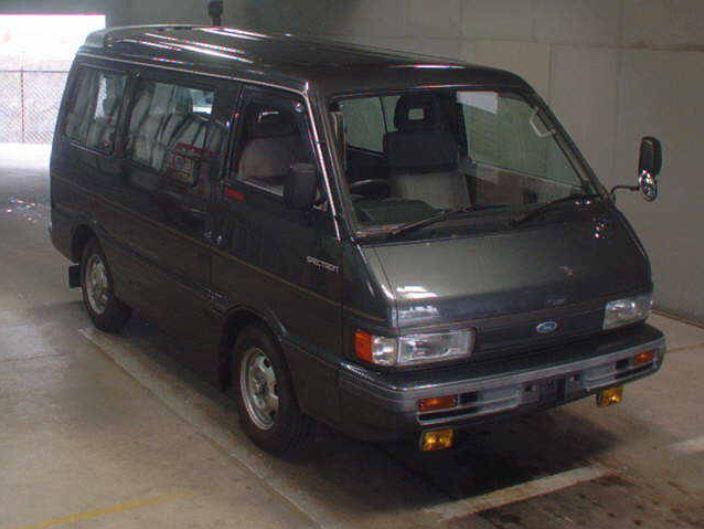 1992 Mazda Bongo (Ford Spectron) turbo-diesel - 18k miles ...